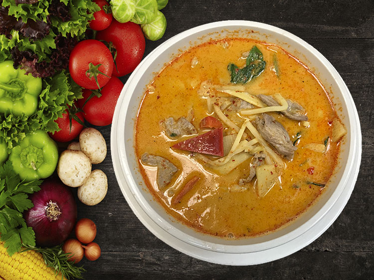 (30) Gang Ped (Red Curry) Image