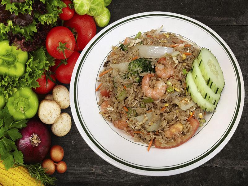 (18) Shrimp Fried Rice Image