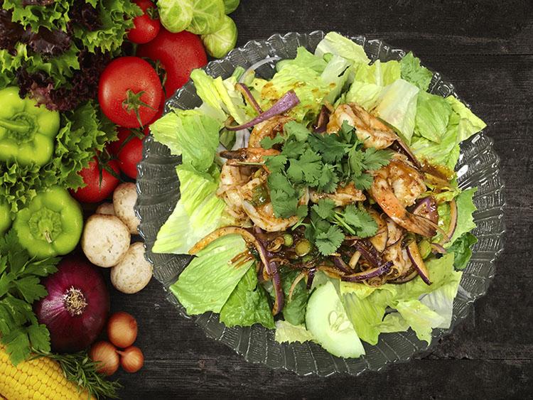 (36) Pla Koong (Shrimp Salads) Image