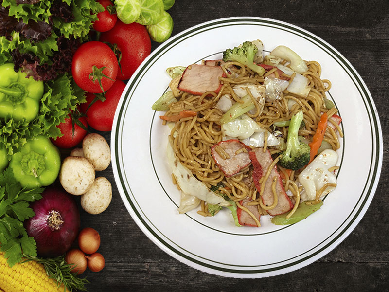 (71) Roasted Pork Lo Mein Image