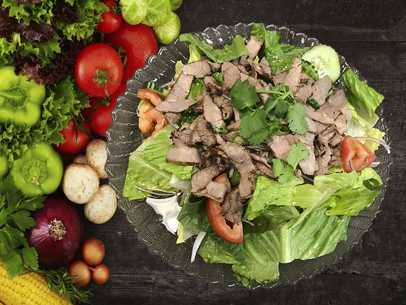 (34) Yum Nuer (Beef salad) Image