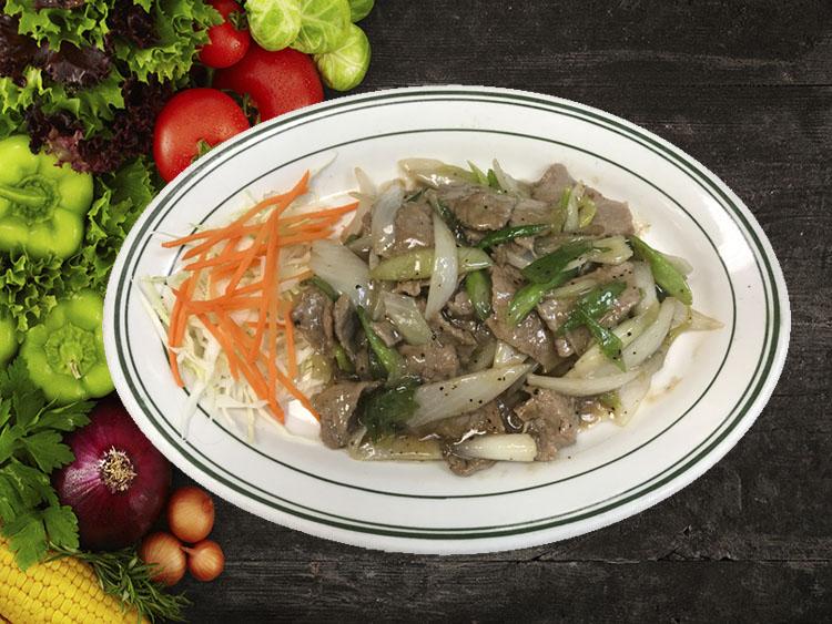 (75) Mongolian Beef Image