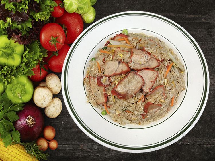 (14) Roast Pork Fried Rice