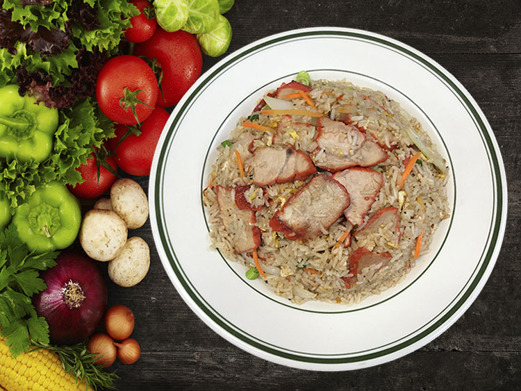 (14) Roast Pork Fried Rice Image