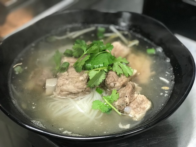 Spare Ribs Noodle Soup Image