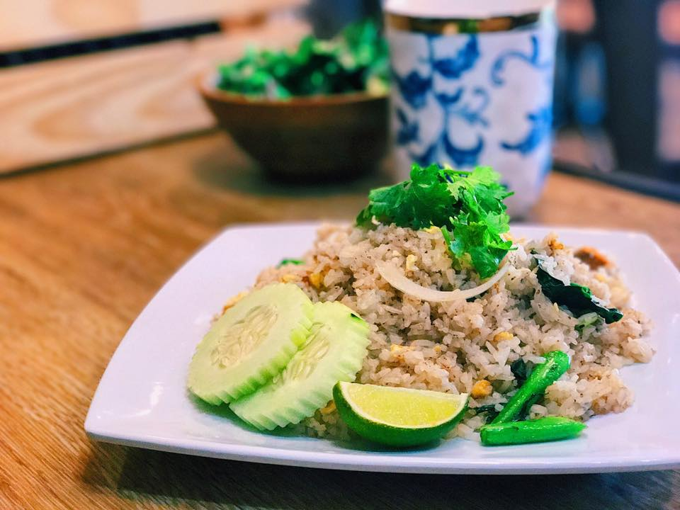 Pla Salid Fried Rice Image
