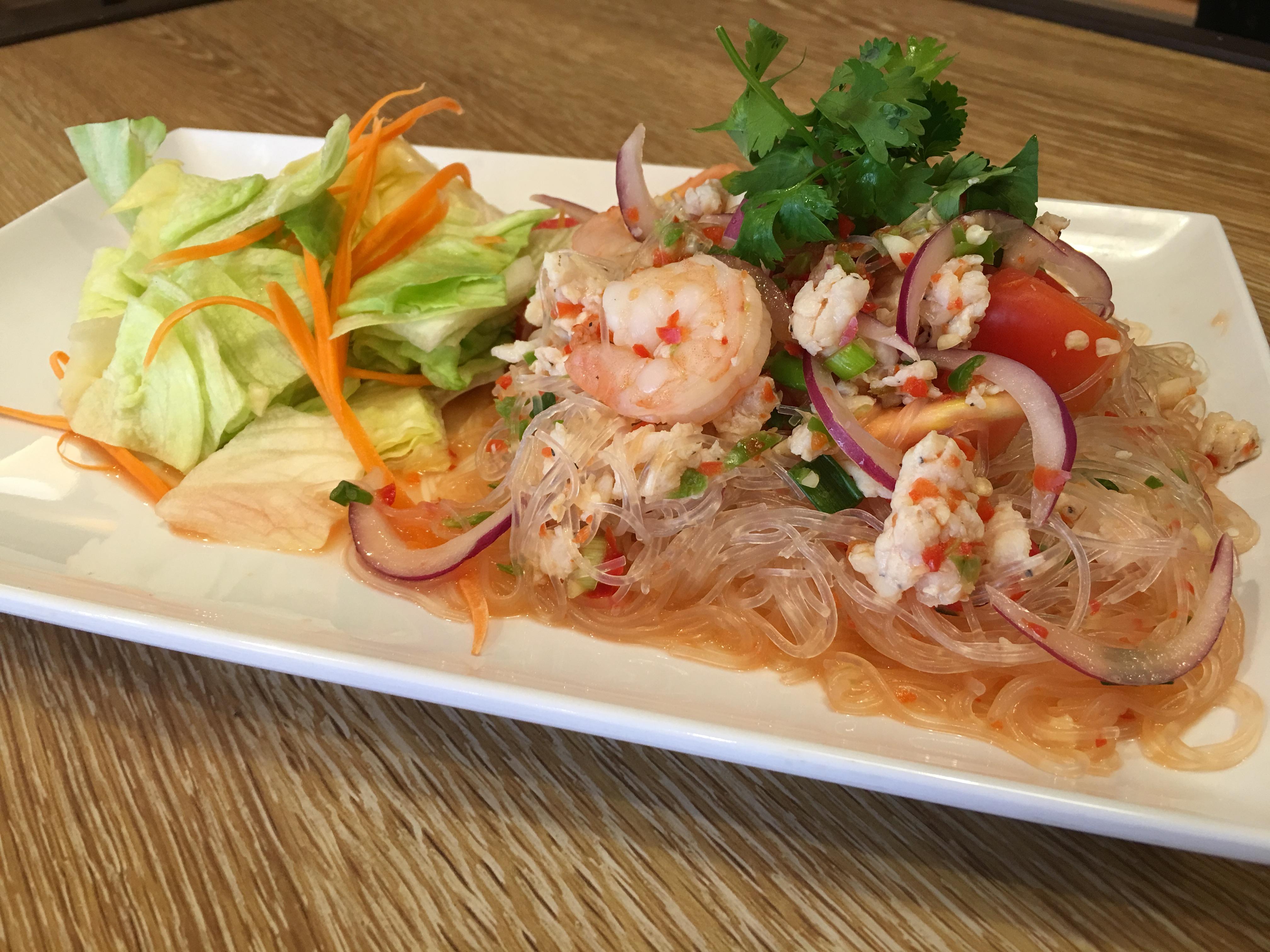 Glass Noodle Salad (Yum Woon Sen) Image