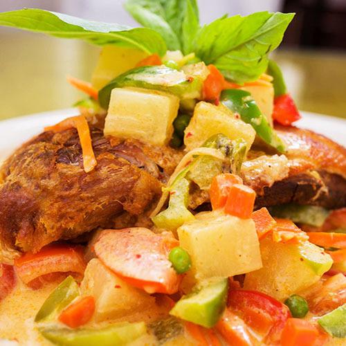 Crispy Duck Curry Image