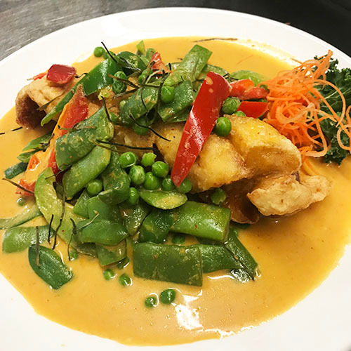 Crispy Snapper Curry