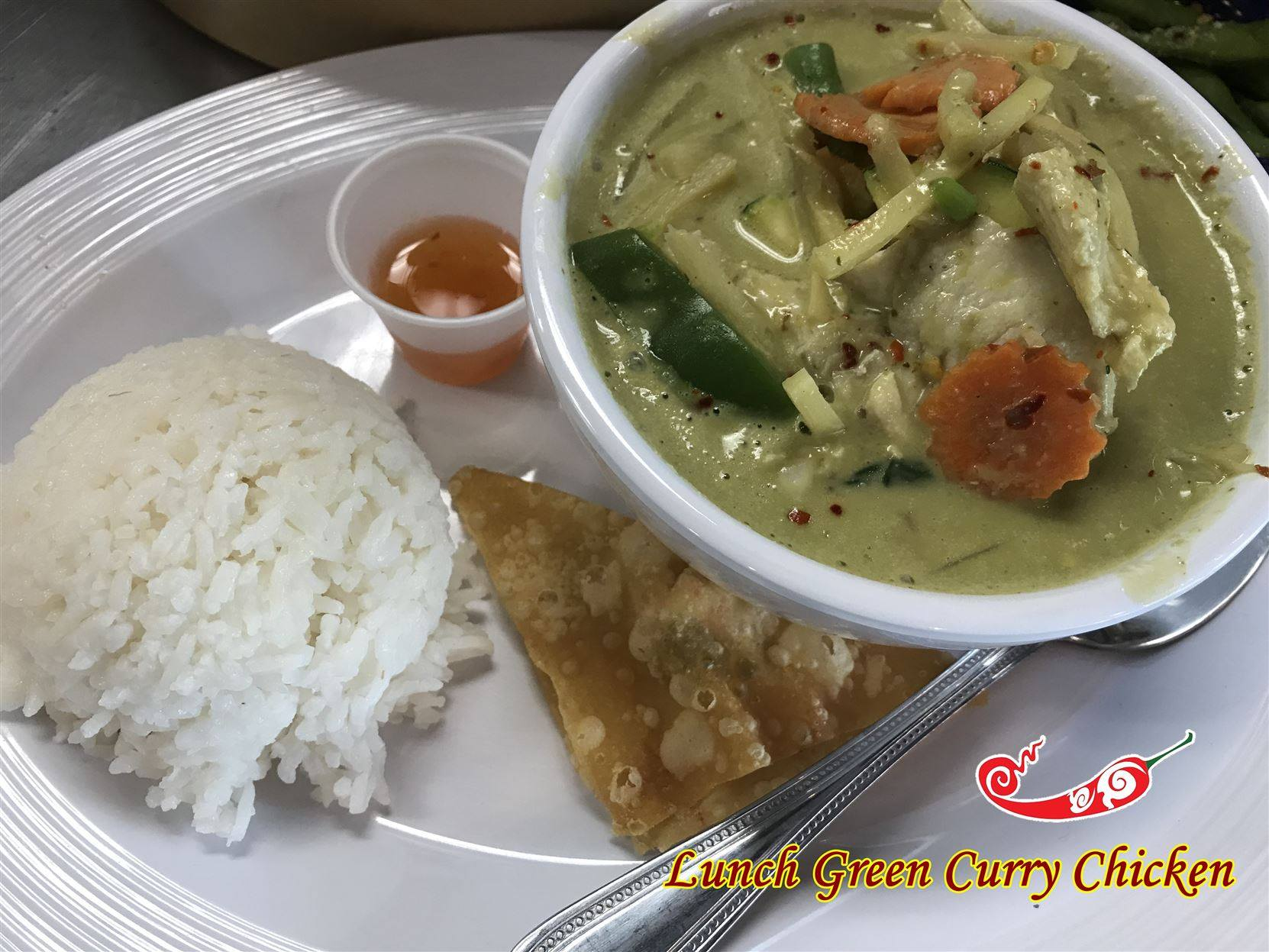 L14-Green Curry (Lunch) Image