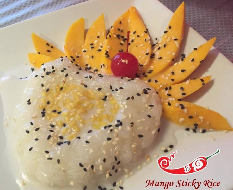 Mango Sweet Sticky Rice Image
