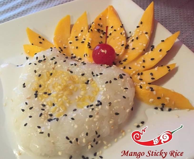 Mango Sweet Sticky Rice Image