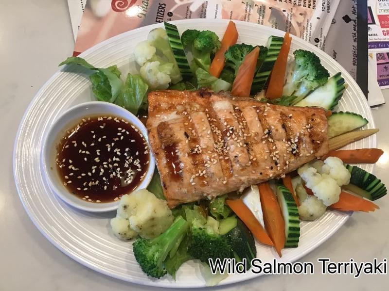 Wild Salmon Teriyaki Image
