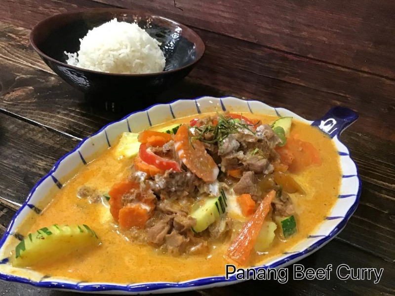 Panang Beef Curry (Best w/ Beef)