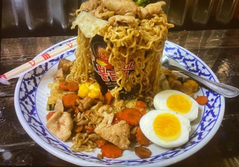 Crazy Noodle Image