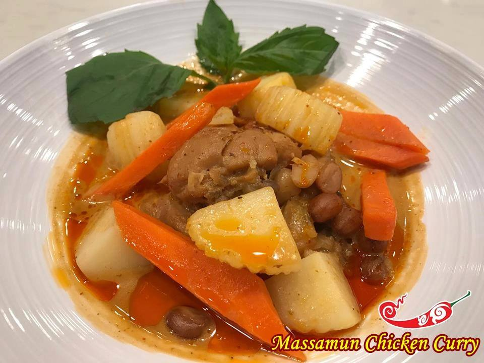 Massamun Chicken Curry Image