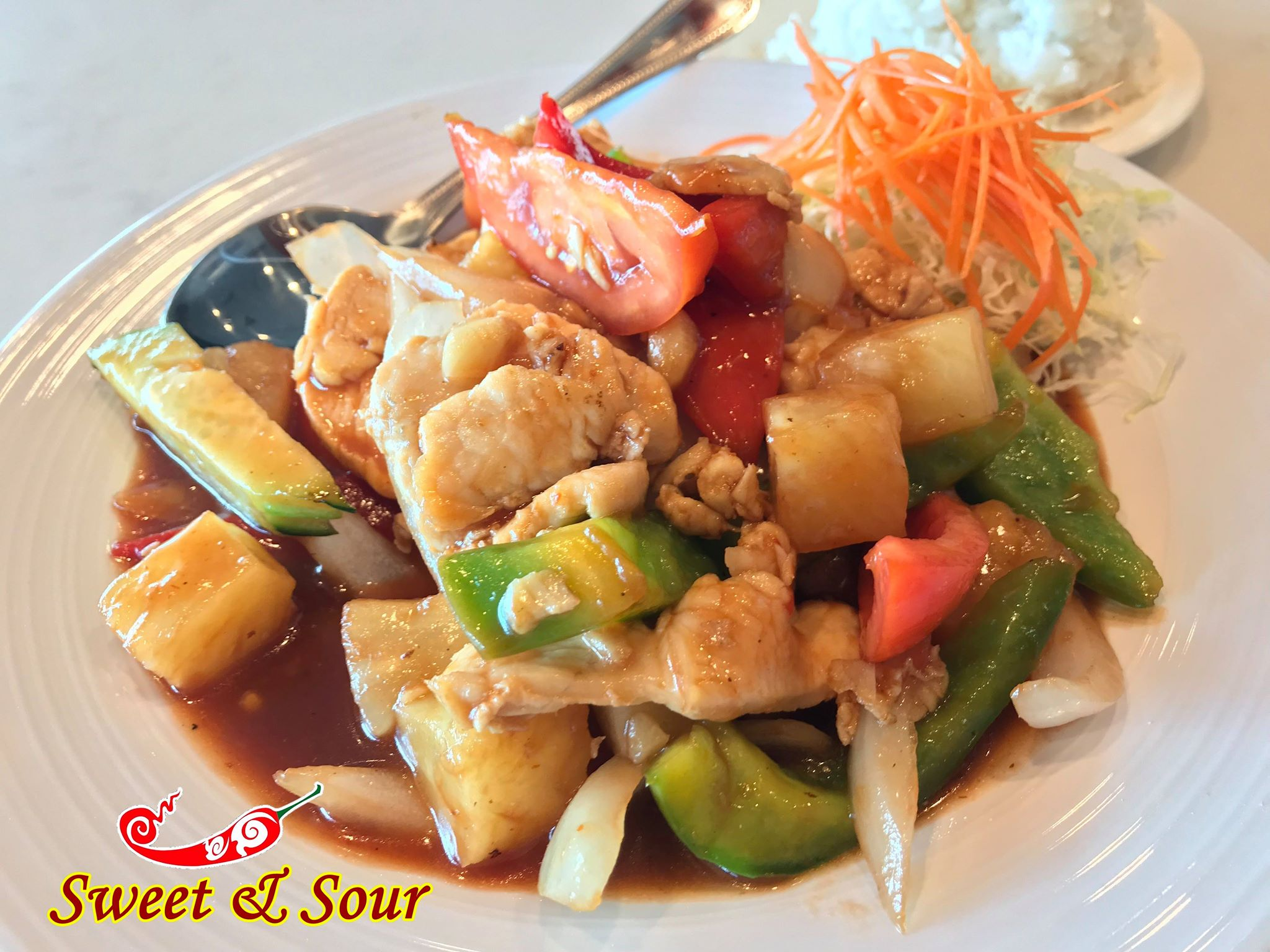 Sweet&Sour Stir-Fry (Catering) Image