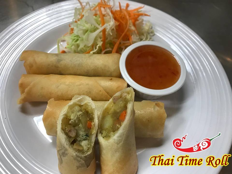 Thai Time Rolls (3 Pcs)