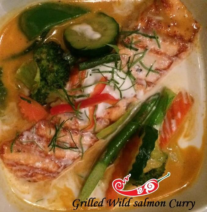 Wild Salmon Curry