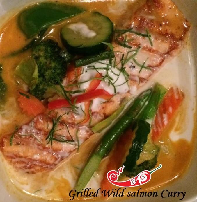 Wild Salmon Curry Image