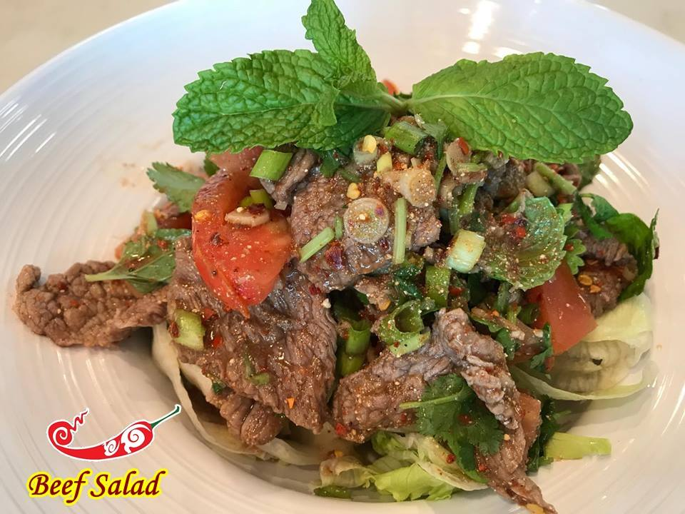 Yum Nua (Beef Salad) Image