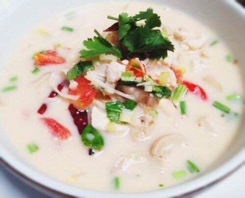 Tom Kha Soup (Small, No Rice) Image