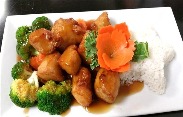 Orange Chicken (Lunch)