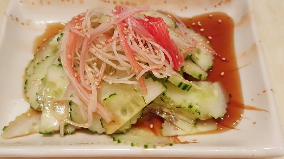 Crab & Cucumber Salad