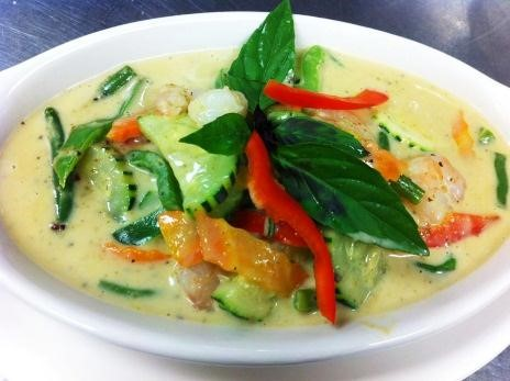 Green Curry (Lunch) Image