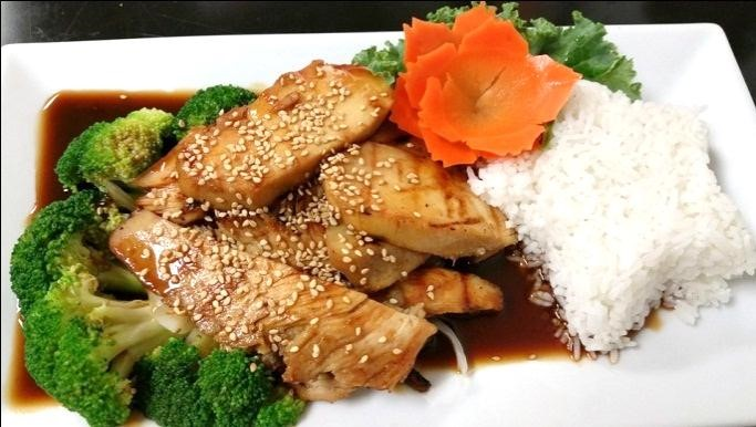 Grilled Chicken Teriyaki (Lunch)