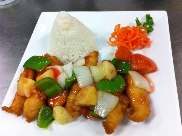 Sweet & Sour Chicken (Lunch)