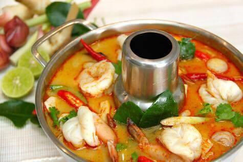Thai Time Soup (Large, W/ Rice)