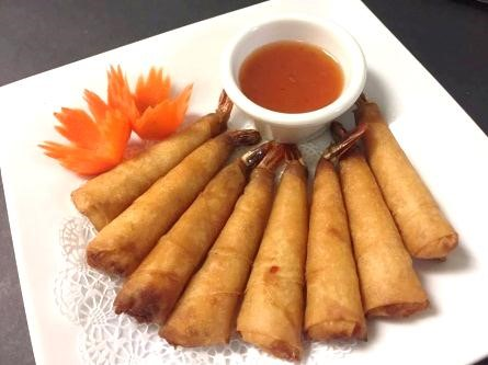 Shrimp Rolls ( 8 pcs)