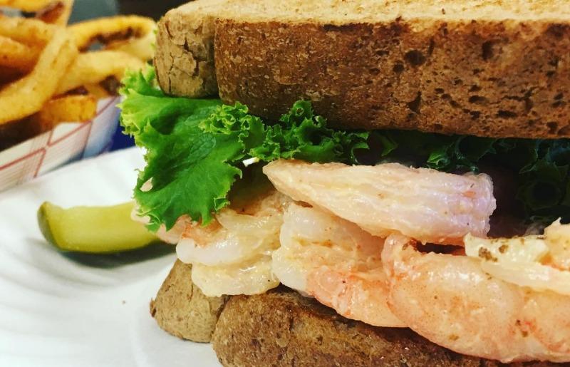 Shrimp Salad Sandwich Image