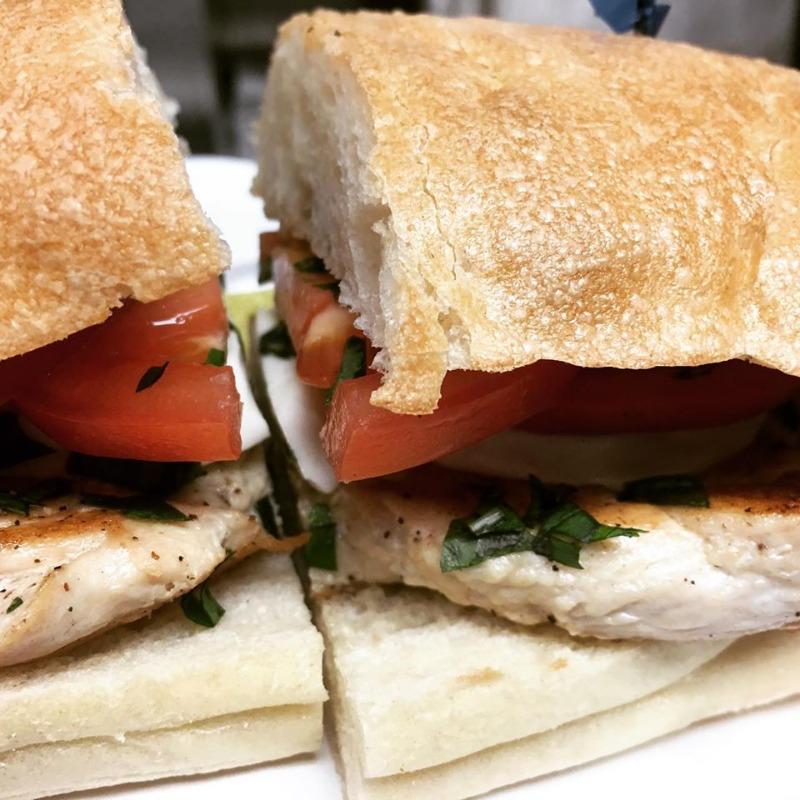 Grilled Chicken Caprese Sandwich Image