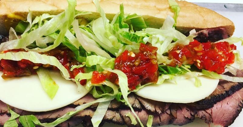 London Broil (Roast Beef) Sandwich Image