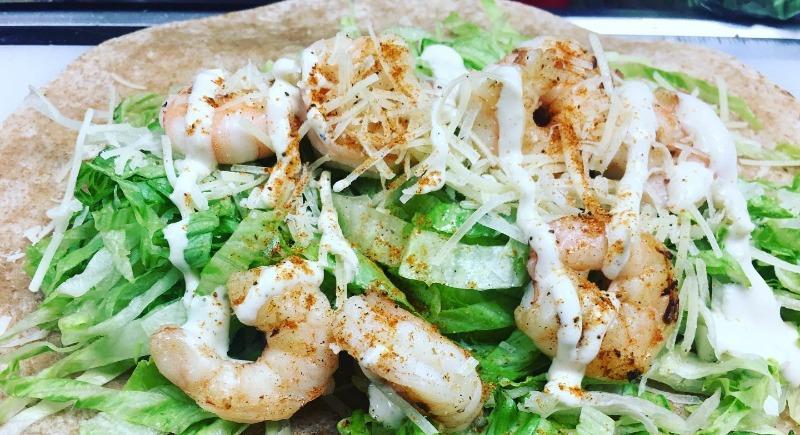 Shrimp Caesar Wrap Image