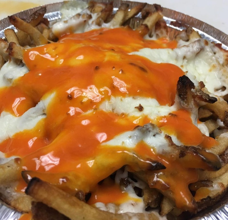 Buffalo Cheese Fries