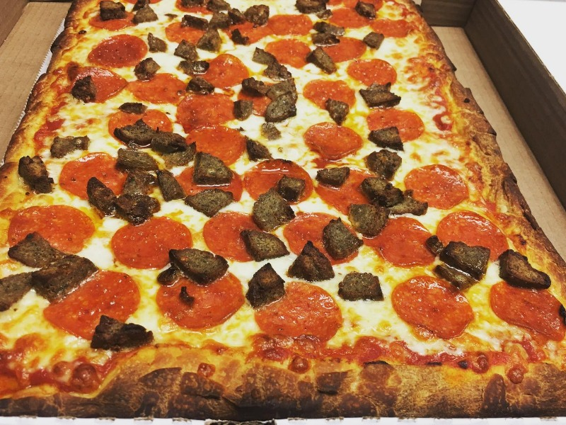 Large Sicilian Pizza Image