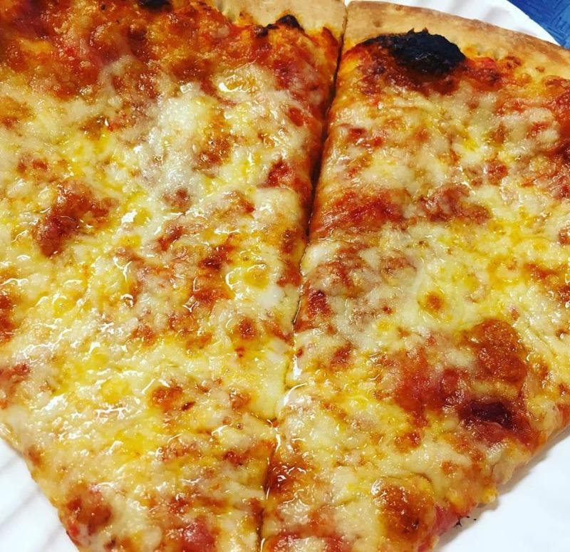 New York Pizza Slice Image