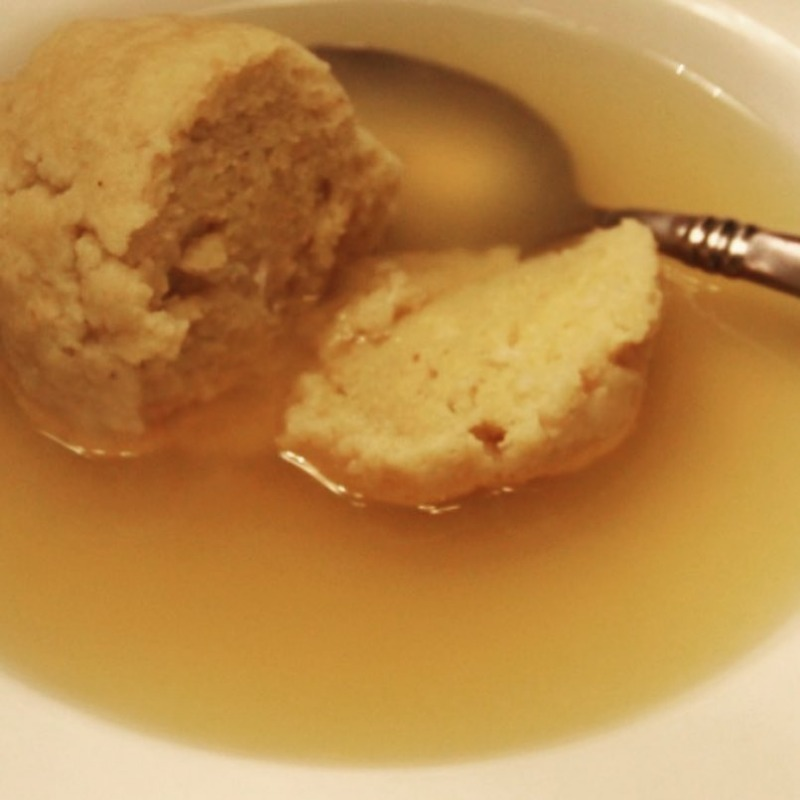 Matzo Ball Soup Image