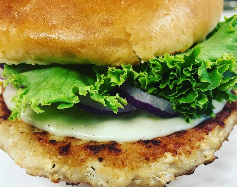 Turkey Burger Image