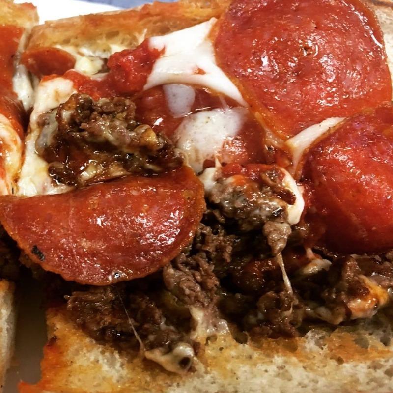 Pizza Steak Sub Image