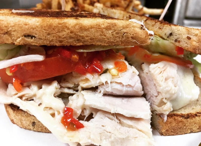 Oven-Roasted Turkey Breast Sandwich