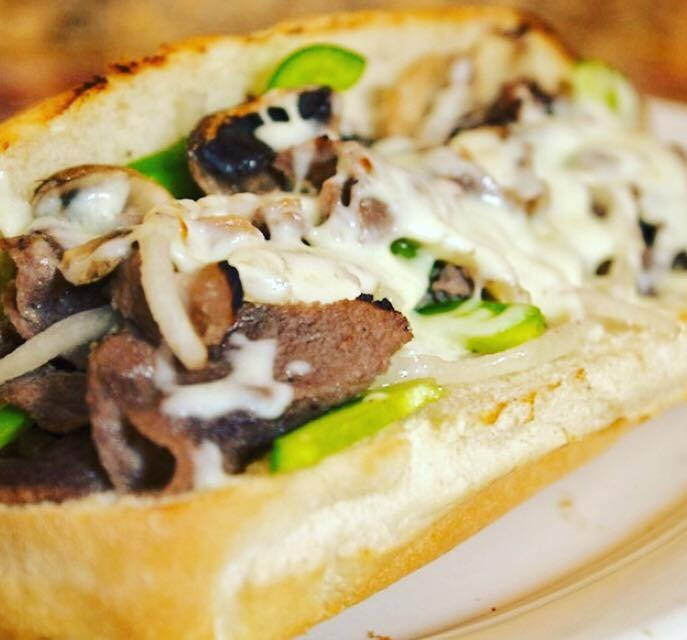 Sausage, Pepper and Onions Sub Image
