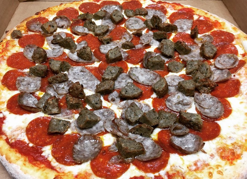 The Beef Brothers Pizza
