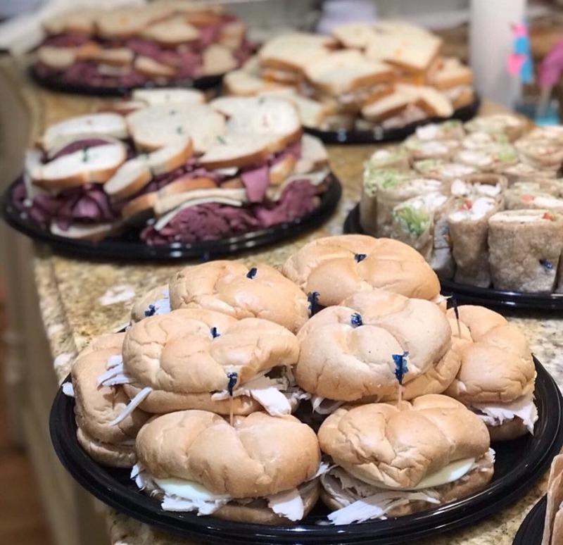 Deluxe Sandwich Platter Image