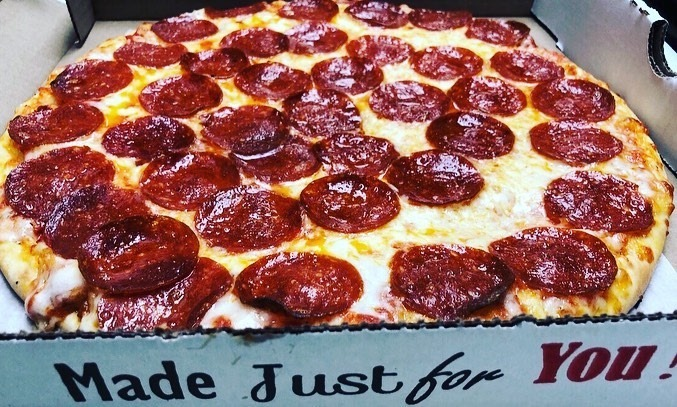 New York Style Pizza Image