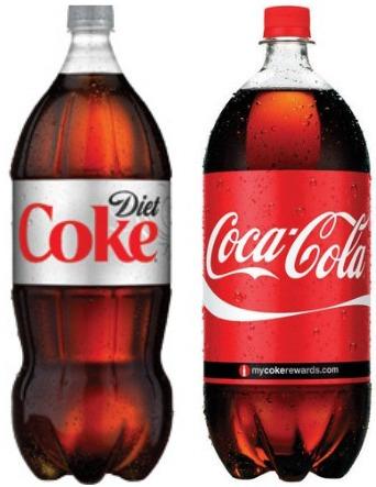 2 Liter Bottled Soda Image