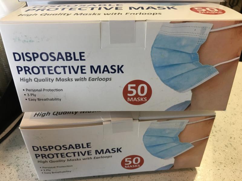 3 Ply Masks Image